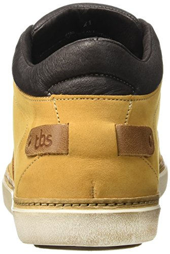 TBS Braquo, Chaussures Lacées Homme Jaune (Ocre)