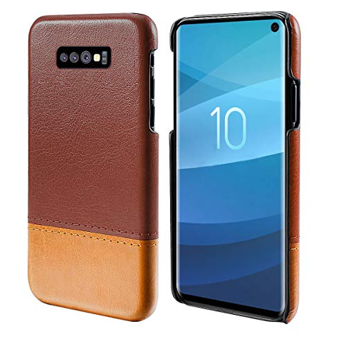 Obamono Xiaomi Mi Play Caso, Protector Diseño Moda Carcasa de Telefono Cubierta trasera duradera (Marrón Claro Marrón)