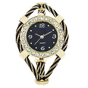 armreifen damen uhr quarzuhr trend damenuhr armbanduhr watch schwarz uhren. Black Bedroom Furniture Sets. Home Design Ideas
