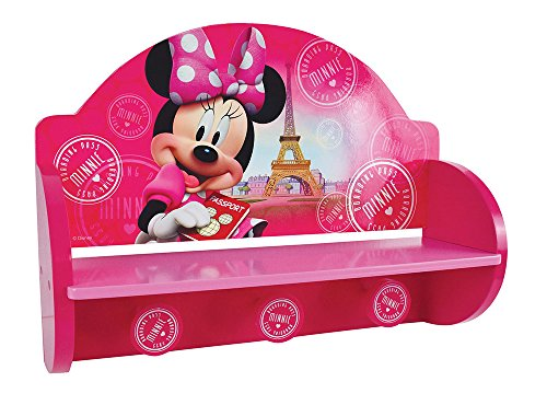 Fun House Disney Minnie Regal Tür Mantel für Kinder, MDF, 46 x 33 x 15 cm