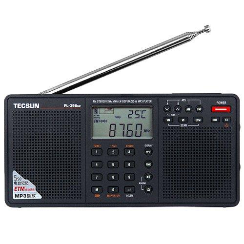 TECSUN PL-398MP FM Stereo/SW/MW/LW DSP World Band