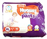 #1: Huggies Wonder Pants Diapers - XL (12-17 kg), 16 Pieces Pack