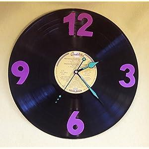 Schallplattenuhr Vinyl Upcycling