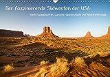 Der faszinierende Südwesten der USA (Wandkalender 2019 DIN A3 quer): Weite Landschaften, Canyons, Geisterstädte und Wüstenmetropole (Monatskalender, 14 Seiten ) (CALVENDO Orte)