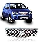 #8: Auto Pearl - Premium Quality Chrome Plated Front Grill For - Maruti Suzuki Alto Std Old