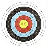 10 G8DS® Papierzielscheiben 40 cm x 40 cm 280 gr Armbrust Bogensport