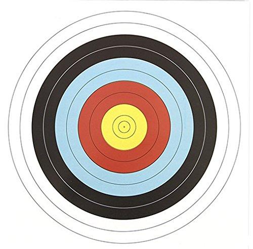 g8ds 200 Papierzielscheiben 40 cm x 40 cm 280 gr Armbrust Bogensport