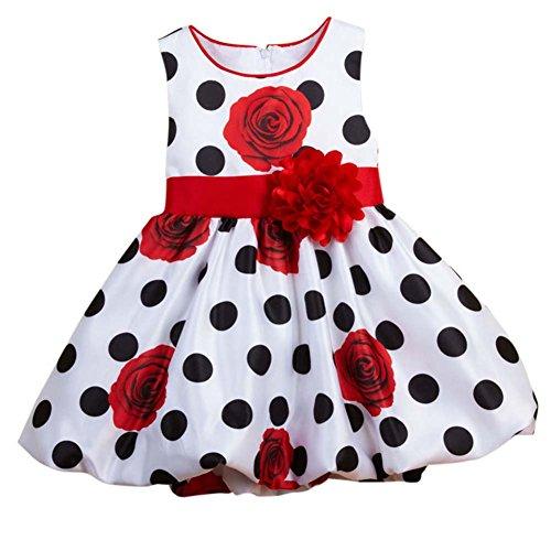 BOBORA per bambini ragazza vestito a pois