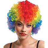 Best Halloween Masks - Ascension® multicolor colorful Fancy Joker clown Hair Wig Review