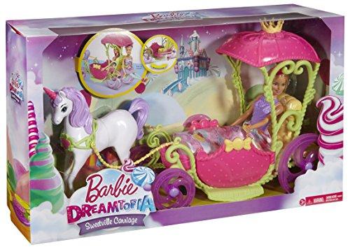 Barbie - Carroza Reino de Chuches y Barbie (Mattel DYX31)