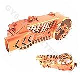 TUNING - STYLING VARIOMATIK- / KICKSTARTER- / KUPPLUNGS DECKEL - MOTORDECKEL LINKS * 40,7cm z.B.für BAOTIAN BENZHOU YIYING HYOSUNG ZNEN CHINA ROLLER...125-200cc / 152QMI / 157QMJ / 4-TAKT