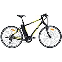 agogs Tracer Cross 26 pulgadas bicicleta eléctrica bicicleta de trekking 48 cm Marco de Aluminio bafang Motor 250 W (Boost a 500 W) 36 V 480 WH Sony Konion ...