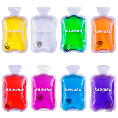 Taschenwärmer 8er Set Multicolor - Wärmflasche - Handwärmer Heizpad Wärmepad Firebag