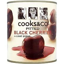 Cooks & Co Kirschen Entbeinten schwarz 850g (Packung von 6)