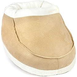 Snug In Boot© chauffe pied- SANS Électricité ni USB - chaleur instantanée - La solution pour la mauvaise circulation, l'arthrose des pieds - À la maison ou au bureau - léger et confortable - Cadeau id
