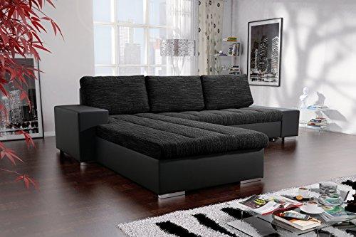 Sofa Couchgarnitur Couch Sofagarnitur VERONA 3 L Polstergarnitur Polsterecke Wohnlandschaft mit Schlaffunktion