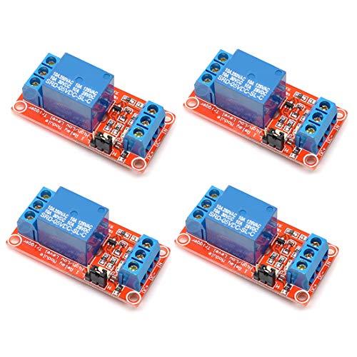 willwin 45V One 1Kanal Relay Module Board Shield mit Optokoppler unterstützt High und Low Level Trigger 5V -