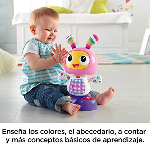Fisher-Price Robot interactivo Robita, juguete electrónico bebé +9 meses (Mattel FBC99)