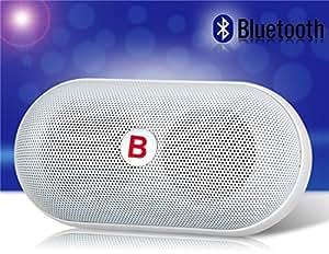 PANMARI livraison gratuite YPS-B15 pilule NFC Portable Capsule sans fil Bluetooth Mini haut-parleur stéréo suport carte TF MP3 disque U, bleu