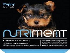 Nutriment Raw Puppy Formula 20 x 500g