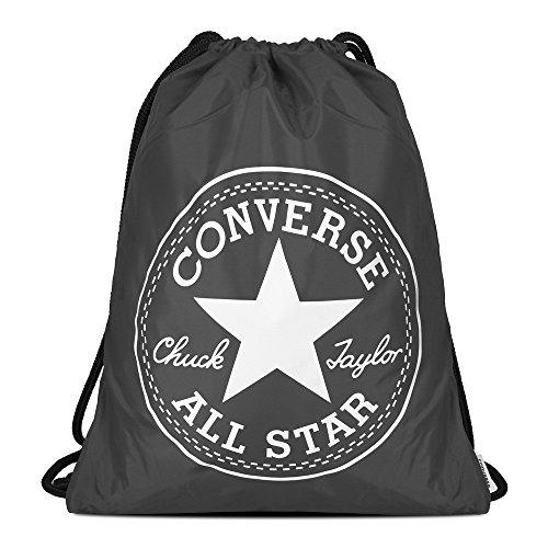 Converse Conversebig Logo Cinch - Zaino Charcoal
