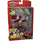 Power Rangers Dino Charge - Figura de acción Raptor Zord, color rojo (Bandai 42176)
