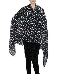 Chipmunk Cherry Print Large Viscose Scarf Ladies Scarves Womens Designer Scarf Sarong Christmas Scarf- SWANKYSWANS