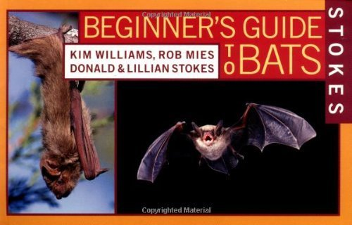 Stokes Beginner's Guide to Bats 1st edition by Williams, Kim, Mies, Rob, Stokes, Donald, Stokes, Lillian (2002) Paperback