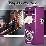 Festnight MOOER Echolizer Delay Gitarre Effektpedal True Bypass Full Metal Shell