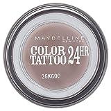Maybelline Augen Studio Color Tattoo 24Hr Lidschatten - Permanent Taupe