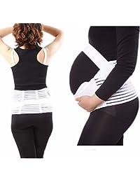 Gravidanza Cintura Rinforzo posteriore Banda di supporto Traspirante Regolabile Maternità Cintura Band Pancia Supporto Prenatale Culla per il bambino