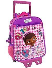 Doctora Juguetes Doc Toy Mochila Infantil, 6.44 Litros, Color Rosa