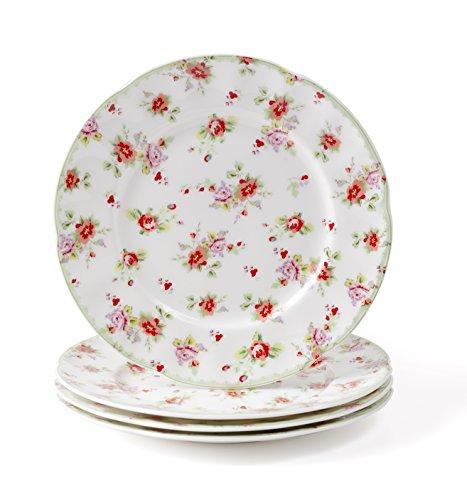 set-of-4-red-rose-fine-bone-china-tea-plates