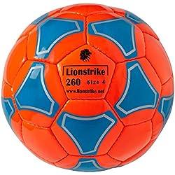 Balón de fútbol de cuero ligero de alta calidad, tamaño 4, adecuado para niños / niñas de 7 a 14 años de edad.