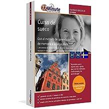 Curso de sueco para principiantes (A1/A2): Software compatible con Windows y Linux. Aprende sueco con el método de aprendizaje de memoria a largo plazo