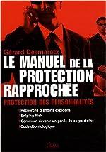 Le manuel de la protection rapprochée de Gérard Desmaretz