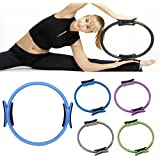 Flyngo Elite Resistance Ring - Pilates, Fintess, Yoga, Gymnastics, Double Foam Padded Handle, Lightweight, Inner and Outer Grips, Comfortable, Leg and Arm Toner, Quickly Effective