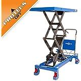 Doppelscheren Hubtisch PROTEUS P800 Tischwagen Hubwagen Hydraulisch Plattformwagen Scherenhubtisch Rollwagen