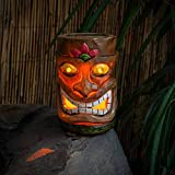 Festive Lights - Solar Powered Polynesian Ornament Lights - Tiki Style Decorative Garden