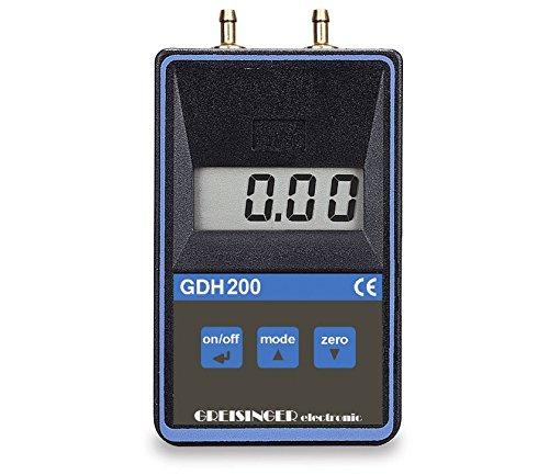 neoLab 3-1038 Digital-Feinmanometer für Über-, Unter- und Differenzdruck