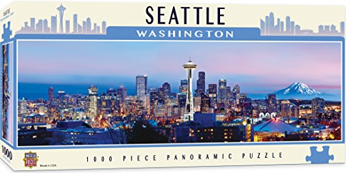 MasterPieces Cityscape - Seattle 1000pc Panoramic Puzzle