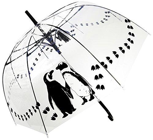 Penguins Transparenter stock durchsichtig Regenschirm