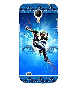 PrintDhaba Dance D-2524 Back Case Cover for SAMSUNG GALAXY S4 MINI (Multi-Coloured)