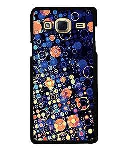 Fuson Designer Back Case Cover for Samsung Galaxy J3 (6) 2015 :: Samsung Galaxy J3 2015 Duos :: Samsung Galaxy J3 2016 J320F J320A J320P J3109 J320M J320Y (Circles Bubbles Spheres Rounds Blue Bubbles)