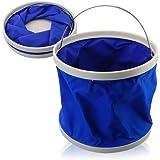 Okayji 9L Portable Foldaway Water Bucket For Camping/Fishing/Boating (Random Color)