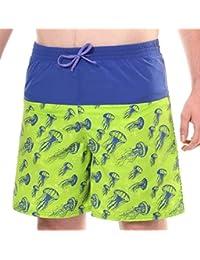 144b0fc0ef Kes-Vir Boy's Incontinence Jelly Fish Board Shorts, 9/10 YRS