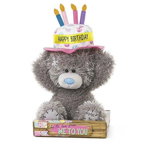 Me to You sg01W40806Hoch Tatty Teddy Happy Birthday Kuchen Mütze Bär sitzt Plüsch Spielzeug