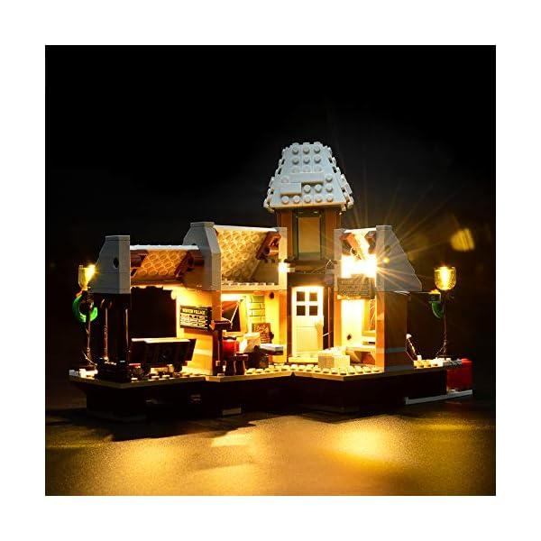 LIGHTAILING Set di Luci per (Creator Expert Stazione ferroviaria Invernale) Modello da Costruire - Kit Luce LED… 3 spesavip