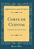 Libros PDF Corte de Cuentas Comedia en un Acto y en Verso Classic Reprint (PDF y EPUB) Descargar Libros Gratis