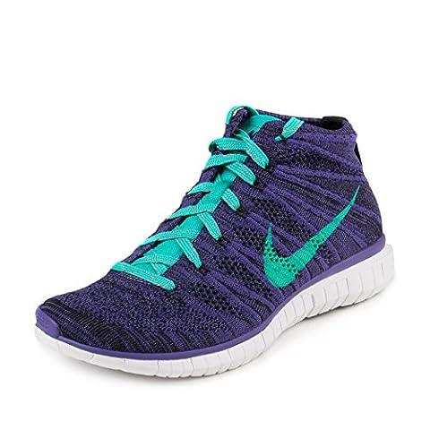 Nike Free Flyknit Chukka Schuhe Sneaker Lila Neu Größe 38,5 US 7,5